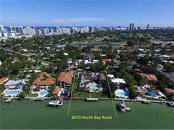 6070 n bay rd. Homes for sale in Miami Beach