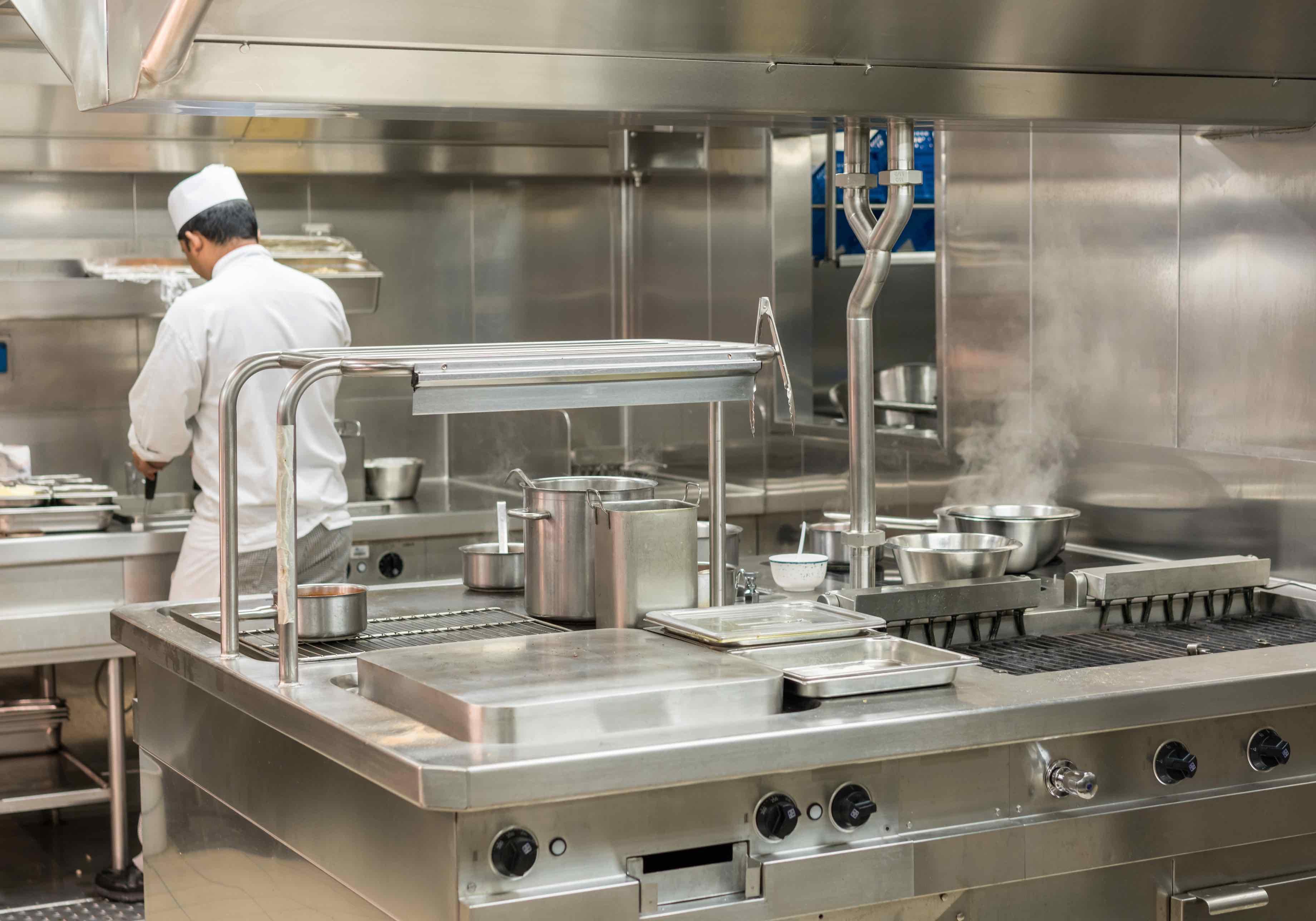 Kitchen Home With Restaurant Style Upgrades