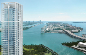 Ten Museum Park. Condominiums for sale in Downtown Miami