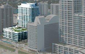 Canyon Ranch - South Tower. Condominiums for sale in Miami Beach