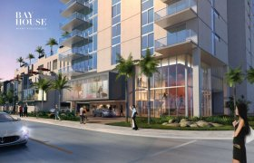 Bay House Miami. Condominiums for sale