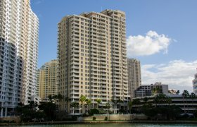 Courvoisier Courts. Condominiums for sale in Brickell