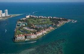 Fisher Island. Condominiums for sale